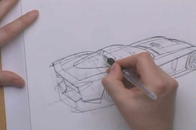 汽车内饰设计建模