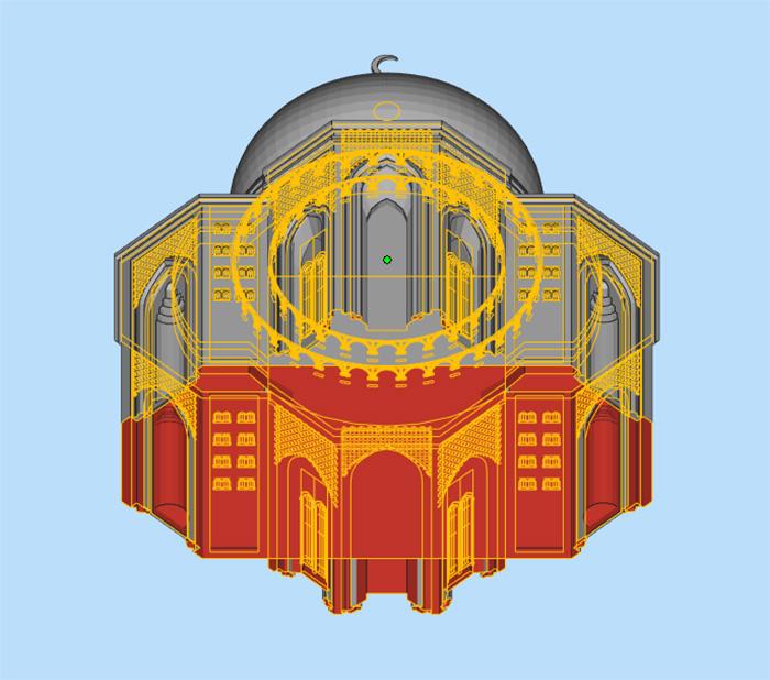 杭州博型泰姬陵模型修复3D打印模型2.jpg