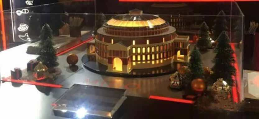 音乐厅3D打印完整效果图