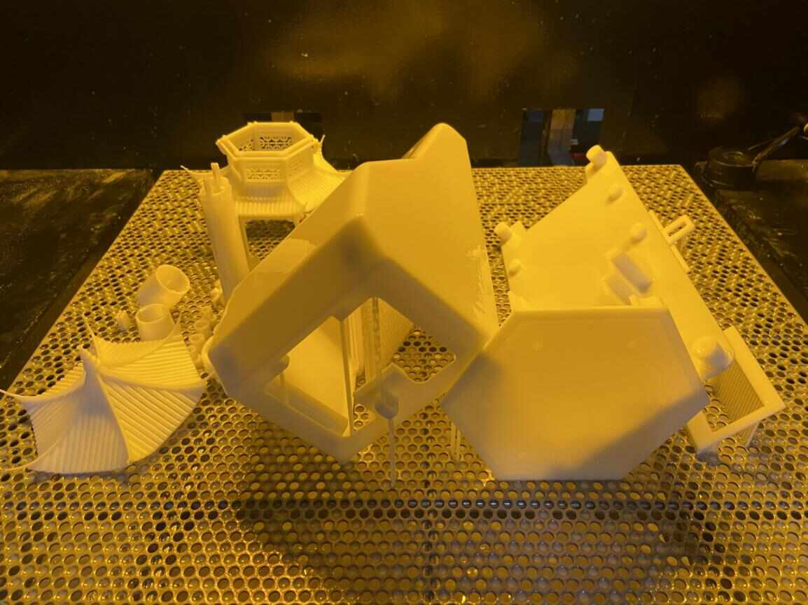 光固化3D打印树脂模型3D打印制作