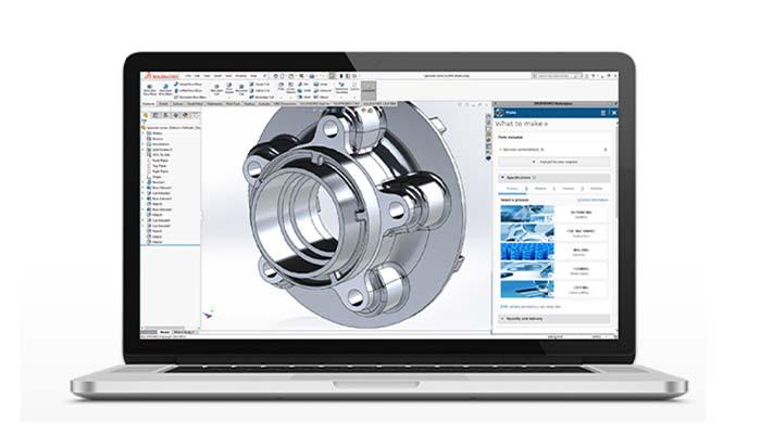 诸如DassaultSystèmes的Make服务等解决方案已经出现,以促进3D打印的采用.png