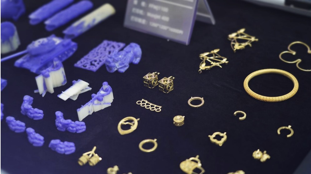 小型摆饰、珠宝配件蜡模及成品